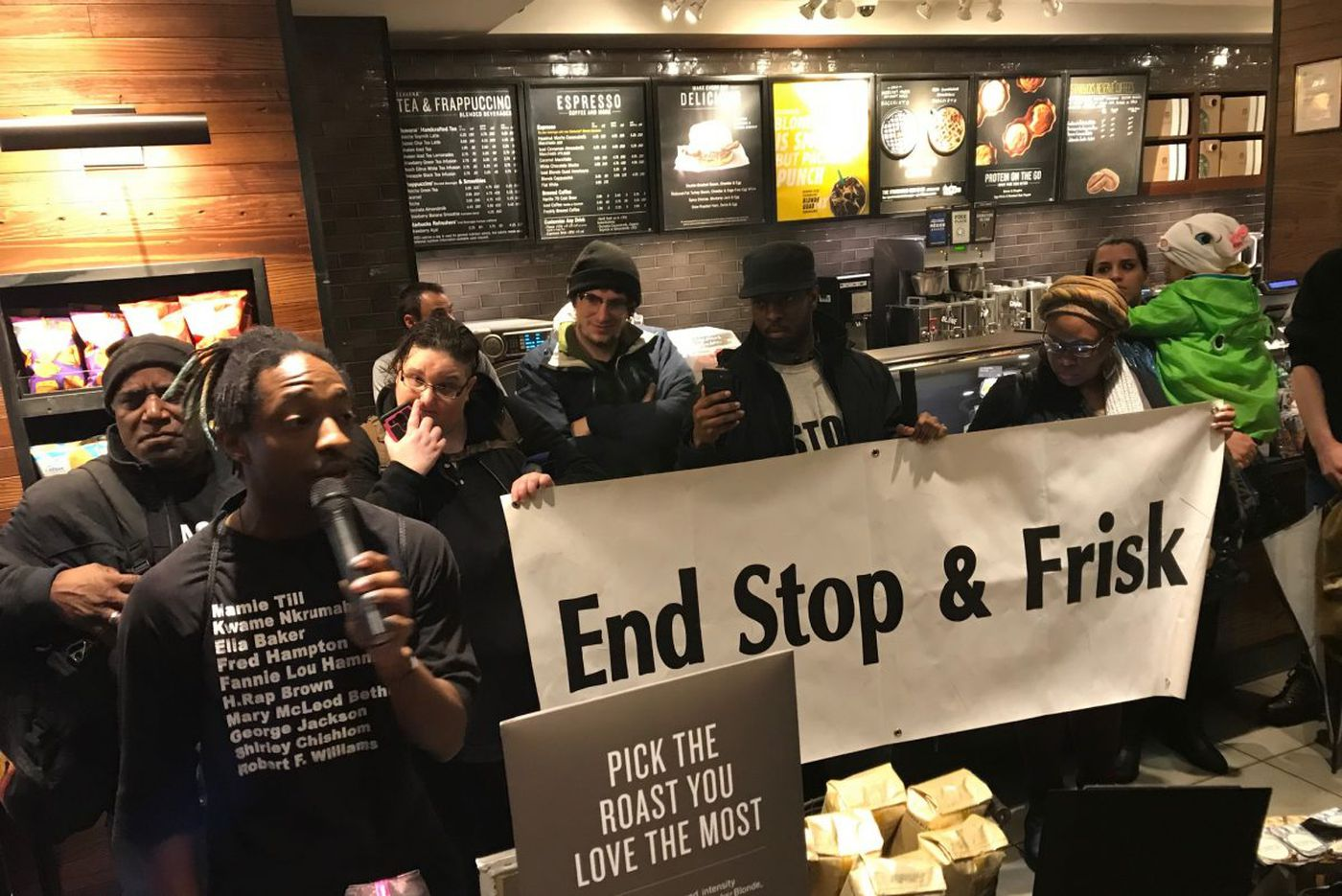 Protests mount, Starbucks CEO apologizes, for arrests of 2 black men at Philadelphia store
