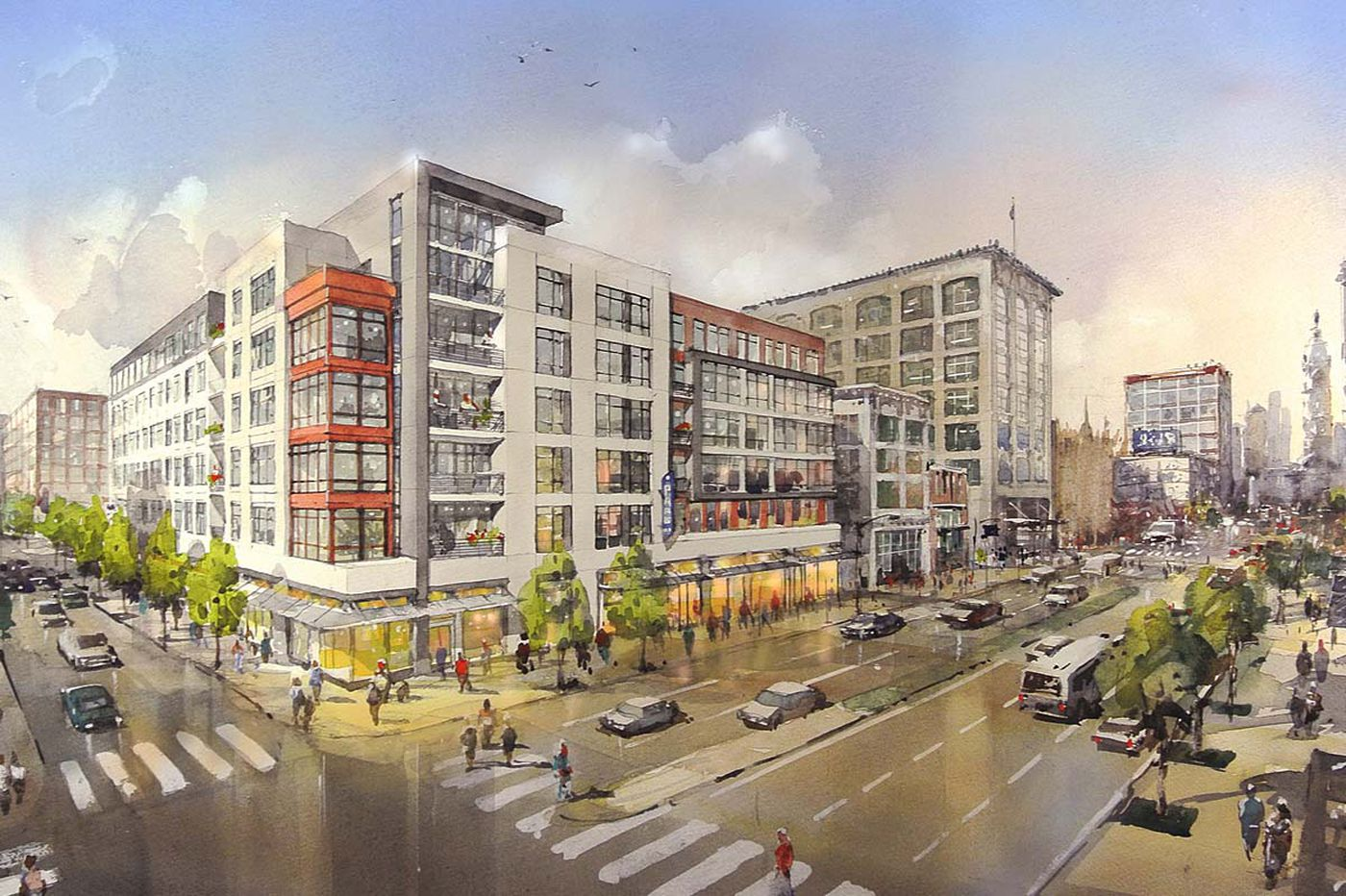 Surge of new apartments could tip central Philly into surplus, study finds
