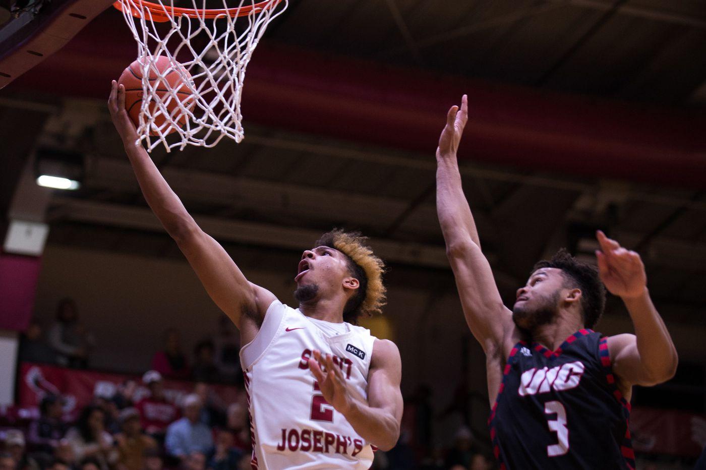 Fresh Kimble scores a career-high 31 to lead St. Joseph's past UIC