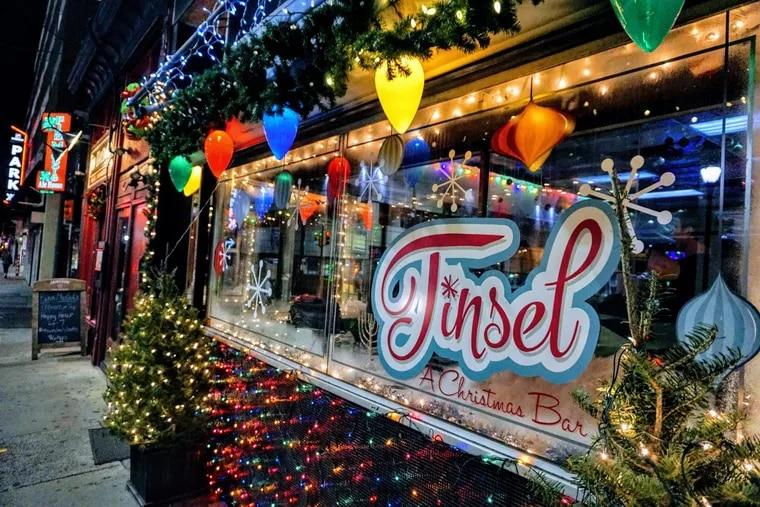 Tinsel Christmas Pop-up Bar, 116 S. 12th St.