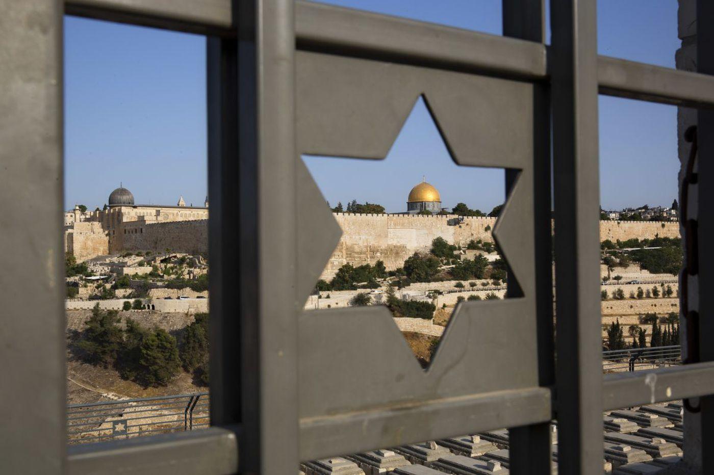 On tour of Israel and territories, one story offers a message of hope