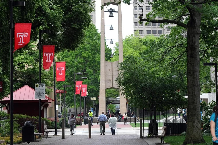Tuition will rise 2 percent in the fall for in-state students at Temple University, ( Sharon Gekoski-Kimmel / Staff Photographer ) May 18, 2011. Editors Note: PTEMPLE22 1/4