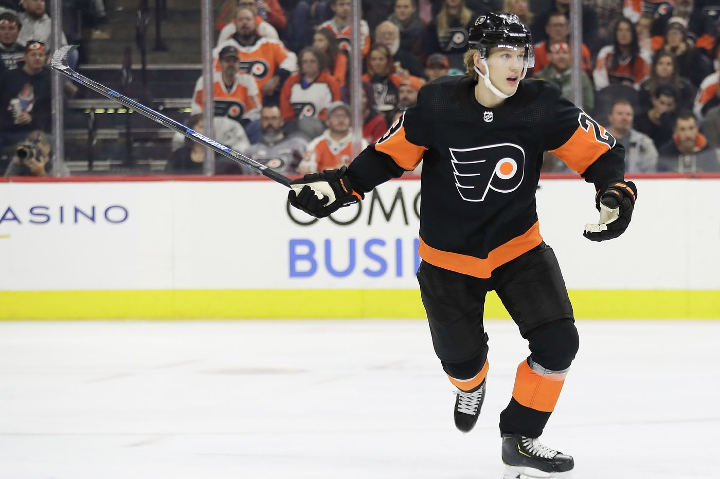Suddenly, injuries piling up on Flyers, who are minus top goal scorers Travis Konecny and Oskar Lindblom, among others