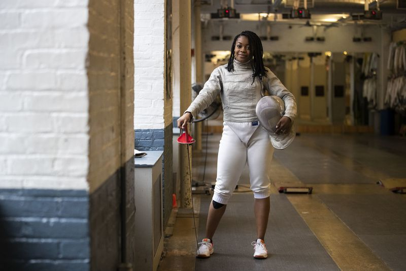 Sabre and a Scalpel! Former Temple fencing star trains for Olympics and becomes a surgeon