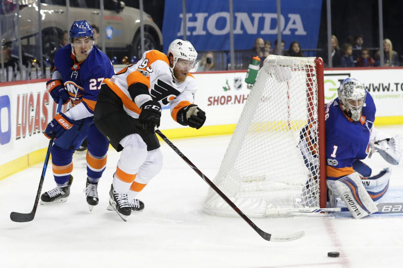 Flyers fall to Islanders in overtime, 4-3, and drop sixth straight