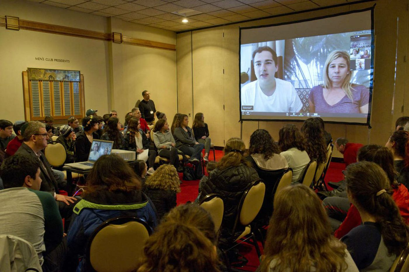Survivor of Fla. school shooting urges Main Line students to fight for change
