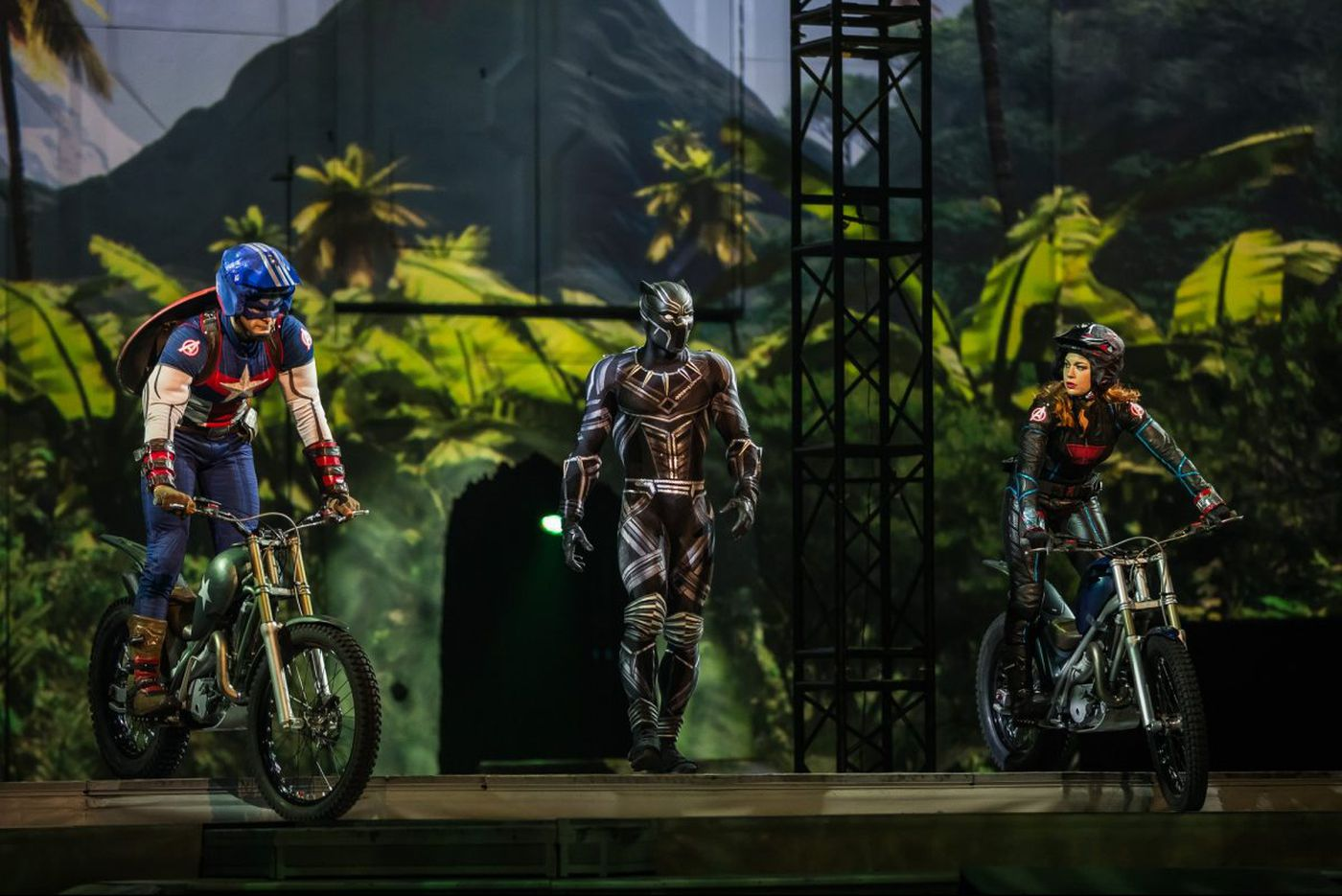 Marvel's superheroes and villains bring the action to the Wells Fargo Center