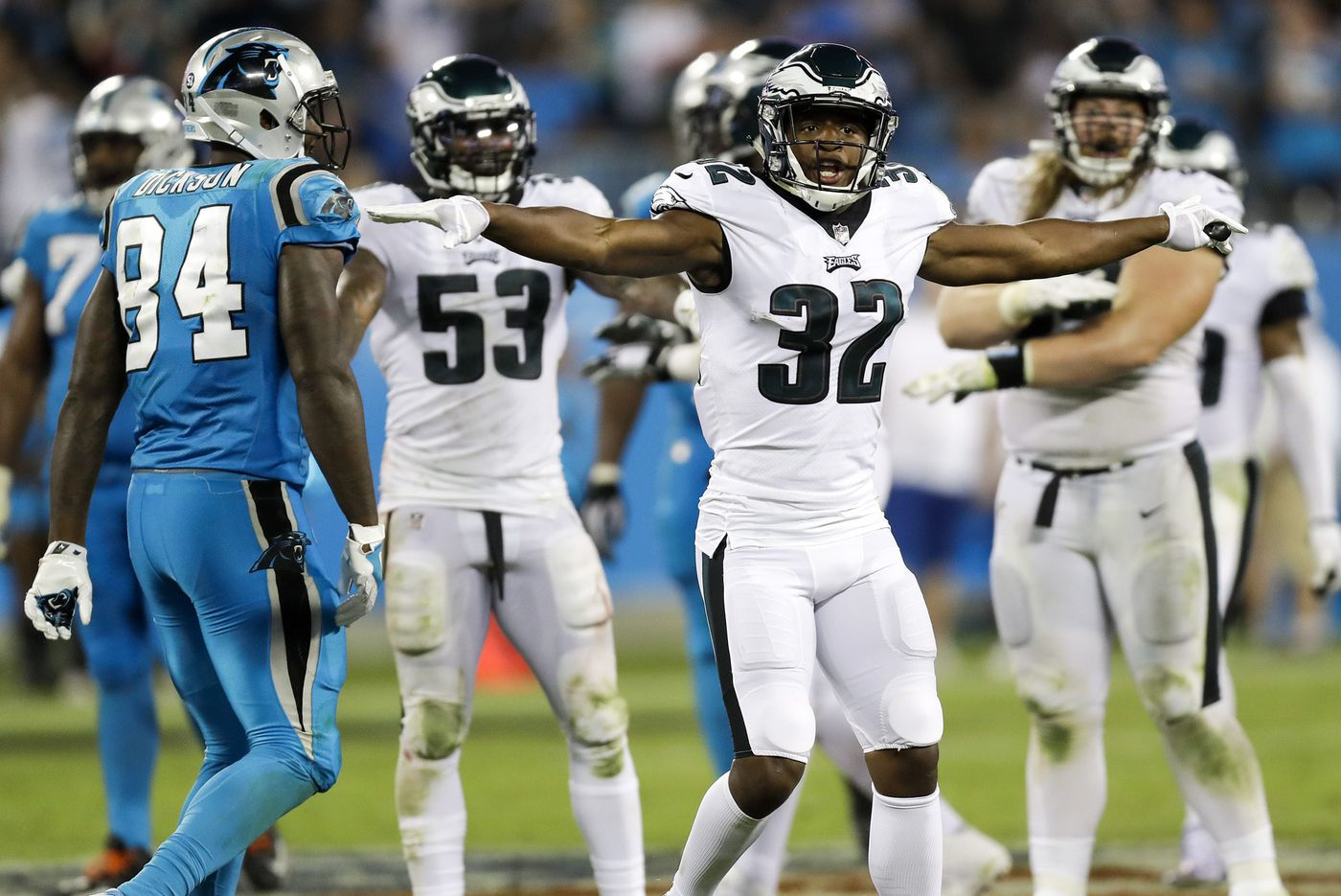 Eric Reid, Malcolm Jenkins have to be separated before Panthers-Eagles game
