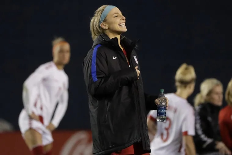 Julie Ertz will play for the United States women's national soccer team at the upcoming SheBelieves Cup. The Americans will face Germany, France and England in the round-robin tournament.