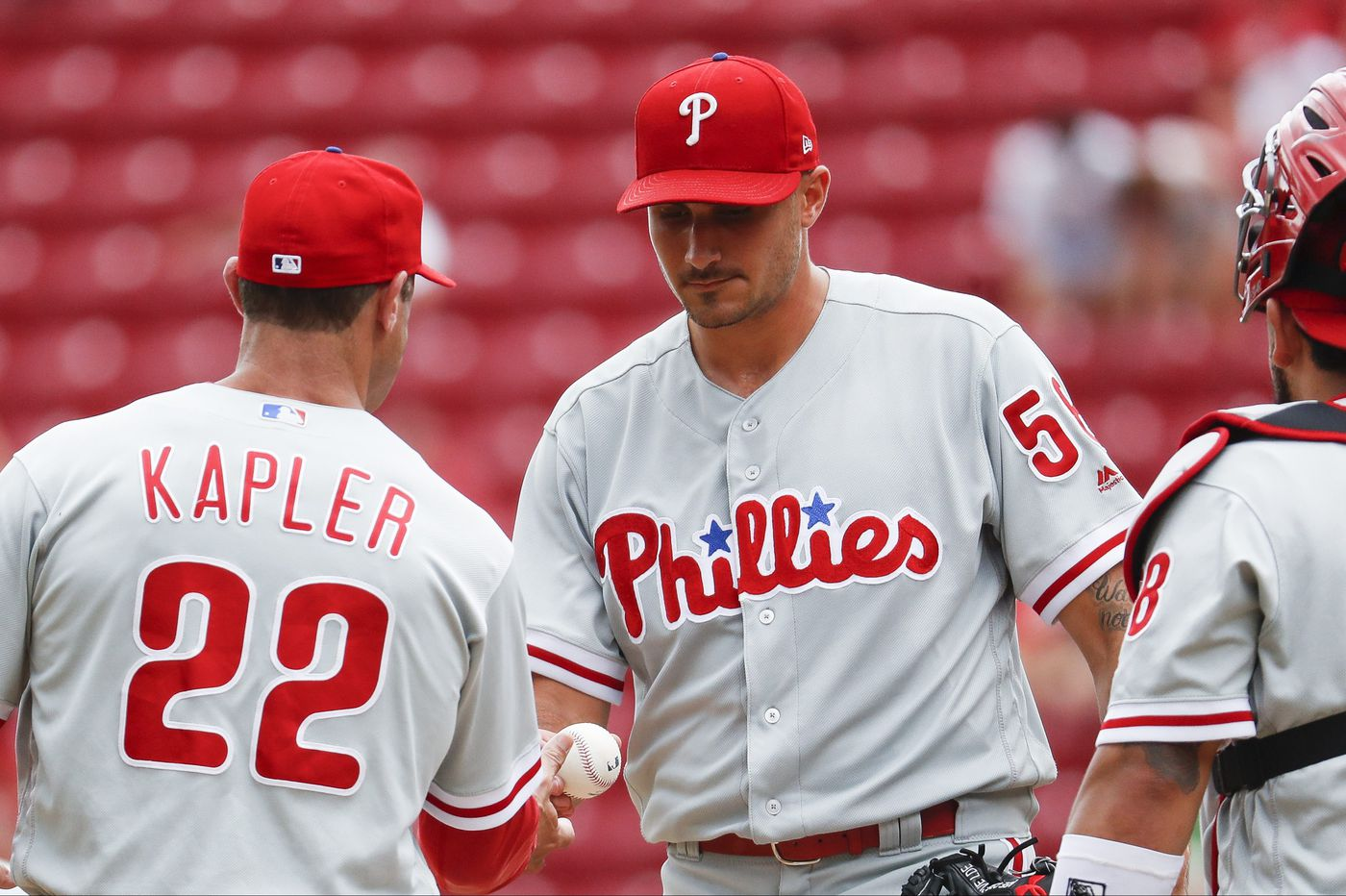 Phillies get shut out by Reds for third straight loss