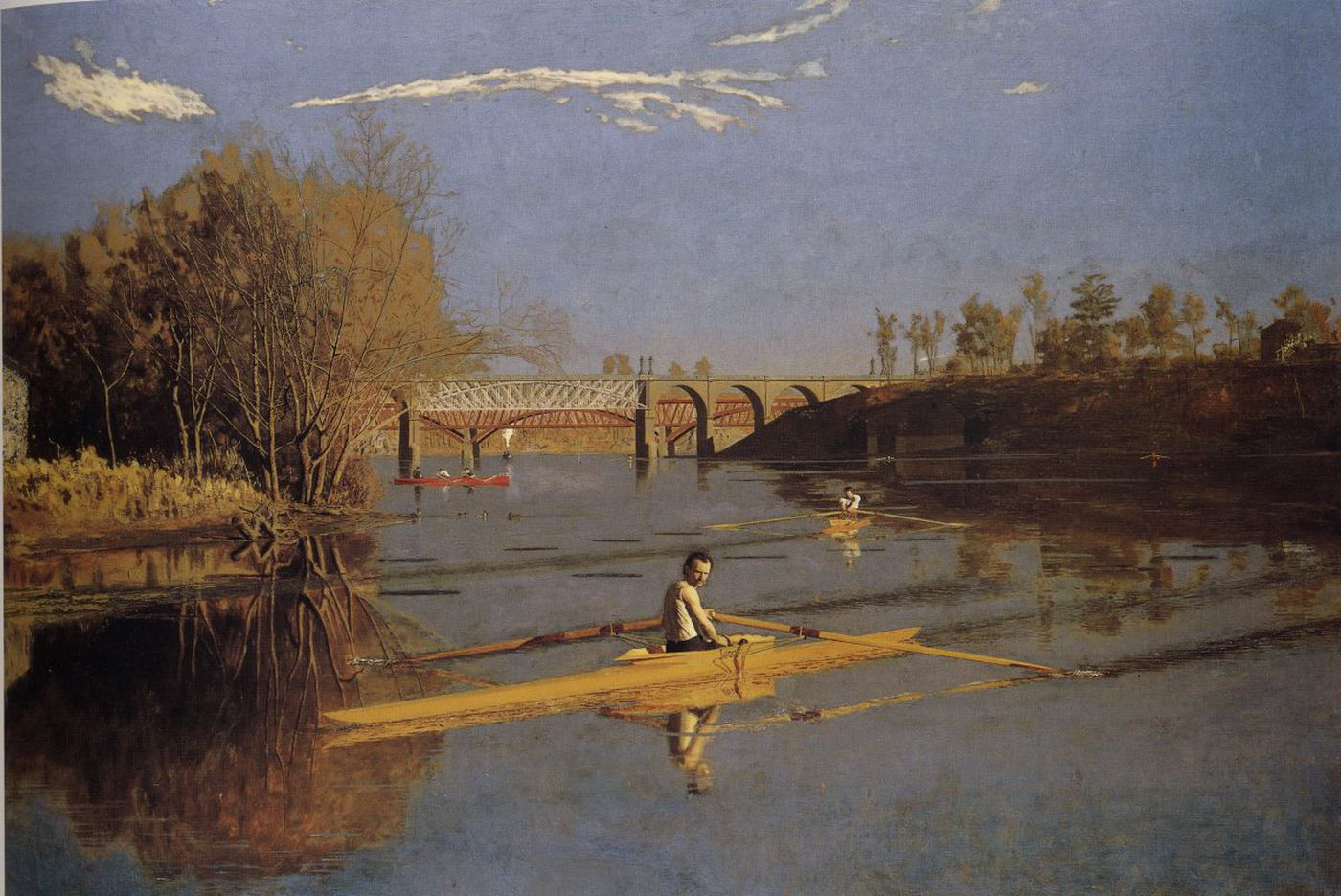 Thomas Eakins' love of the Schuylkill and all things rowing | Perspective