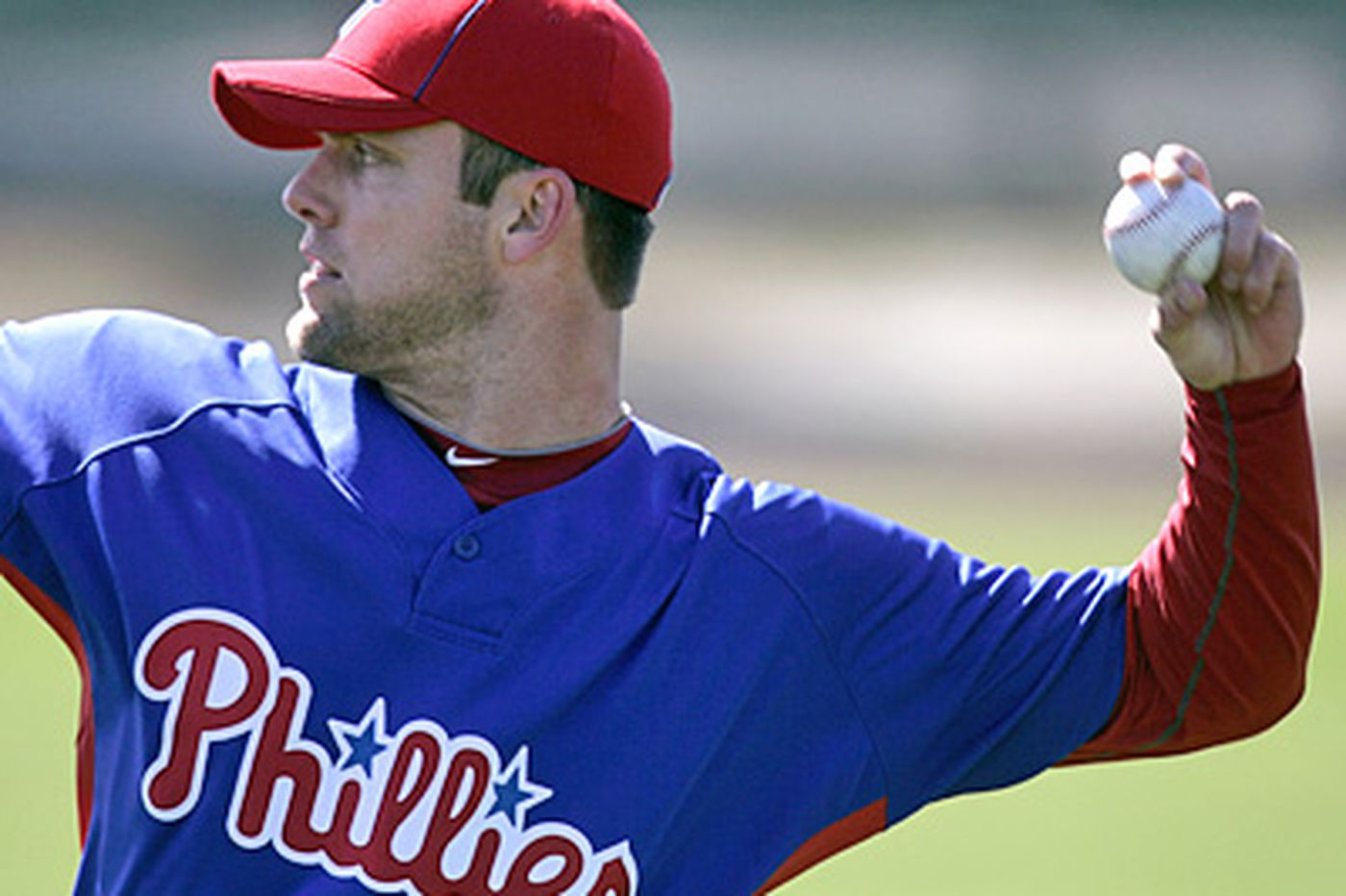 Phils' Savery hopes to gain control