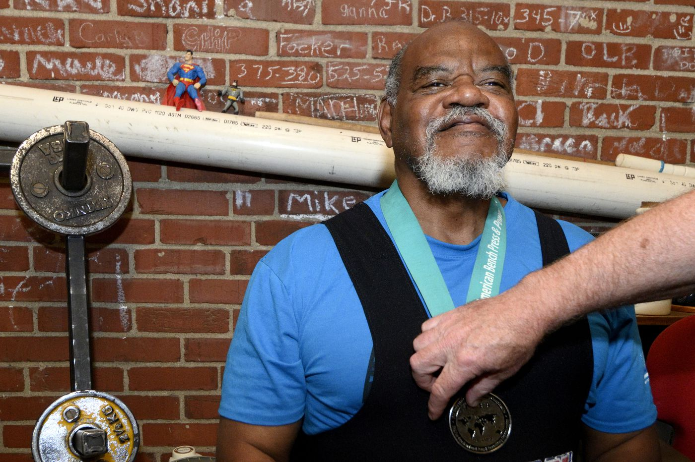 Philly powerlifter, 69, overcame blindness, homelessness, addiction, cancer, and the death of his daughter to become a champion