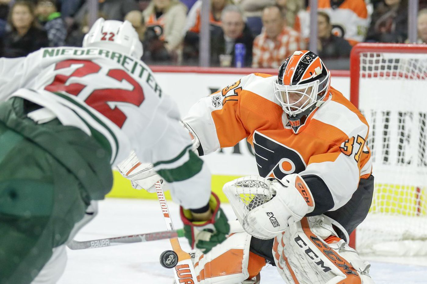 Flyers-Wild preview: Philly looking for revenge against hot goalie, hotter winger