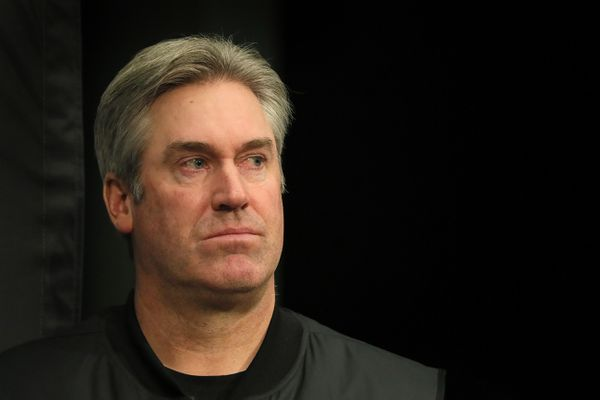 Doug Pederson says he's 'very comfortable' with Eagles' offensive line despite possibility of replacing three starters for opening game