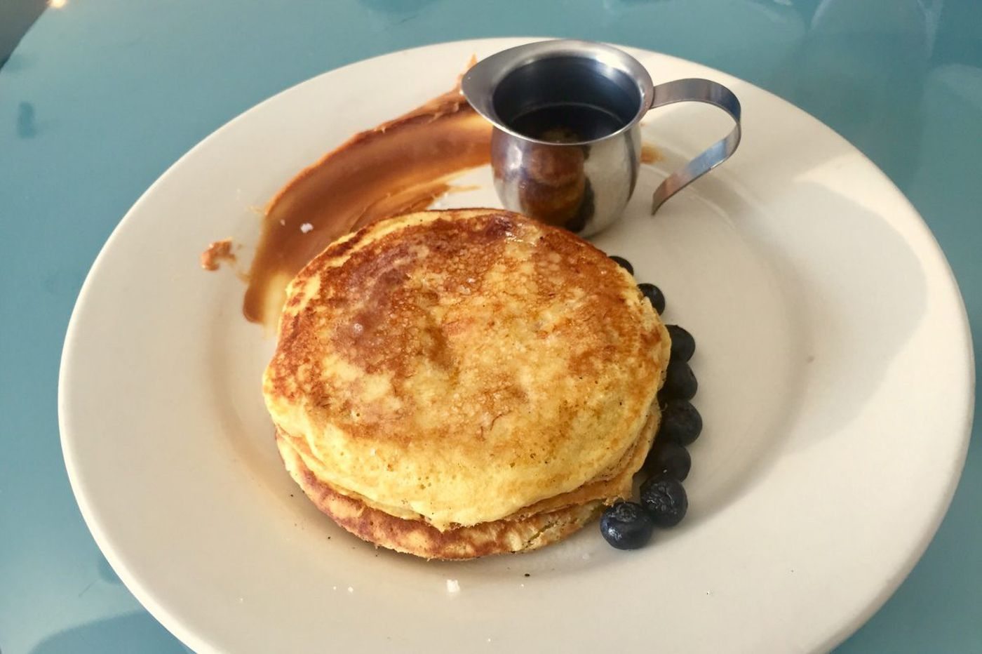 Colombian fusion gives pancakes some plantain love