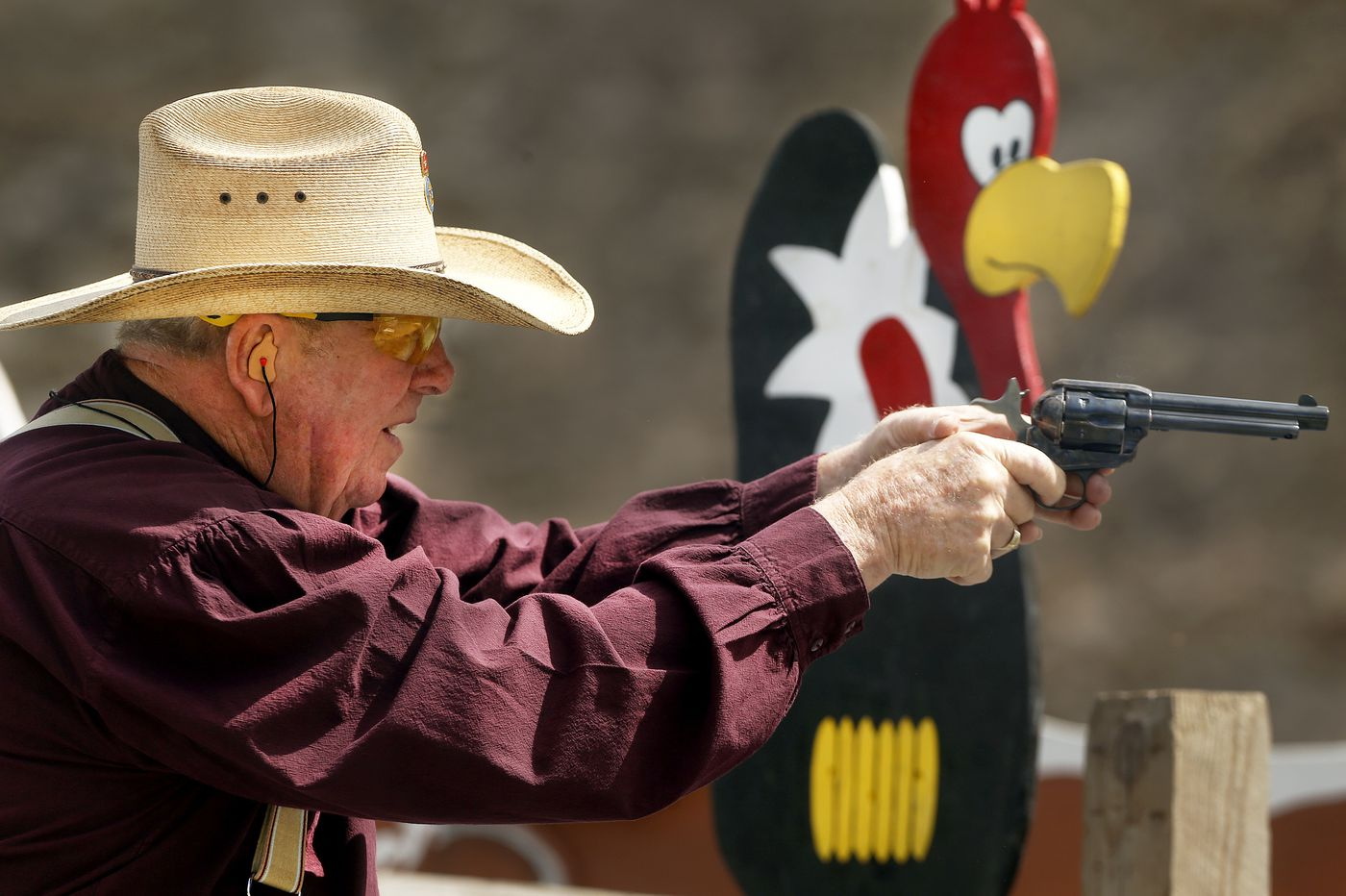 Pennsylvania's wild bunch spend weekends shooting guns in cowboy garb