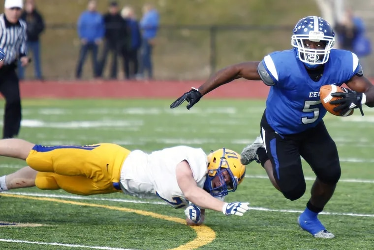 Conwell-Egan senior running back Patrick Garwo, a Boston College recruit, rushed for 2,000-plus yards and 30 touchdowns this season.