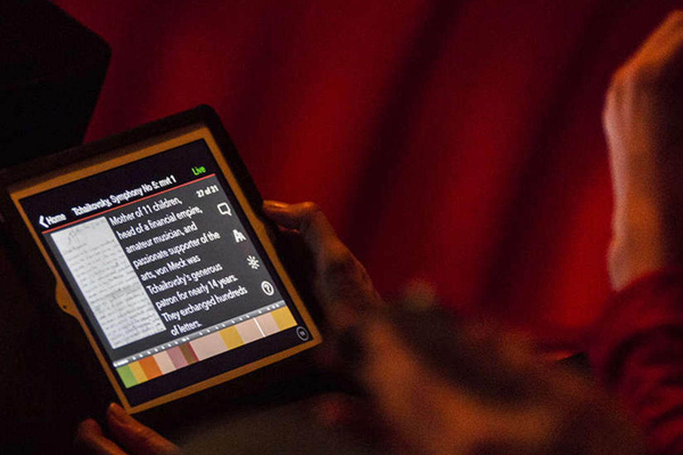 App serves new orchestra audience