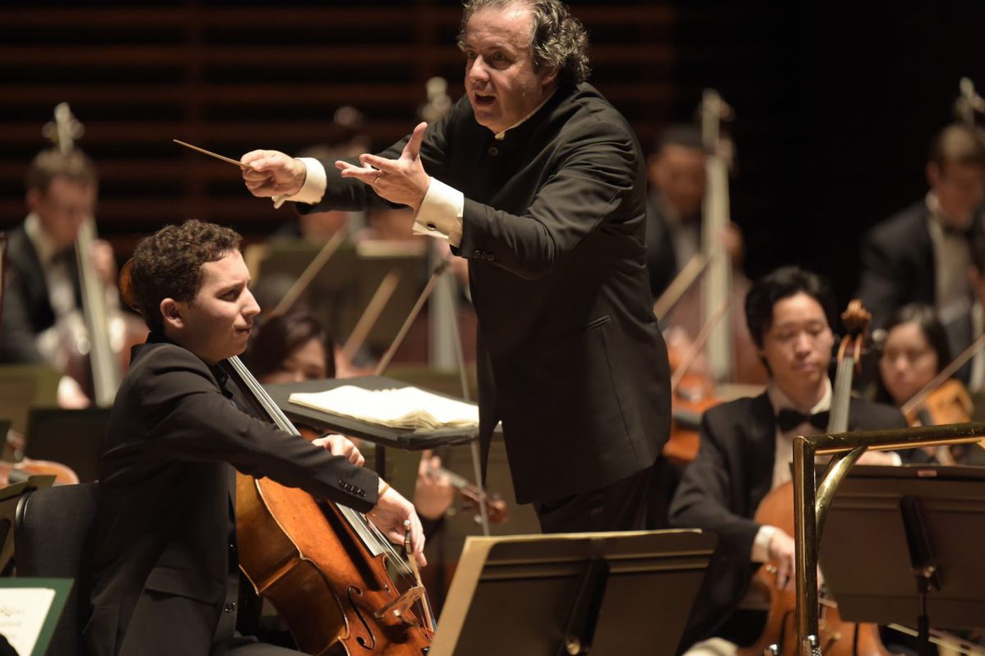A fast ride for the Curtis Orchestra with conductor Juanjo Mena