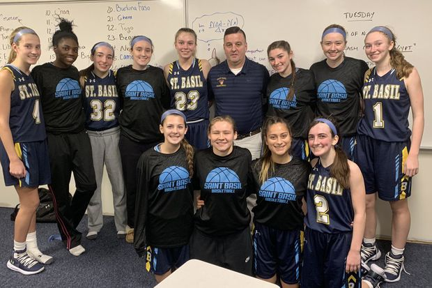Tuesday's Southeastern Pa. roundup: St. Basil coach Terry Mancini secures 400th victory in win over Nazareth Academy