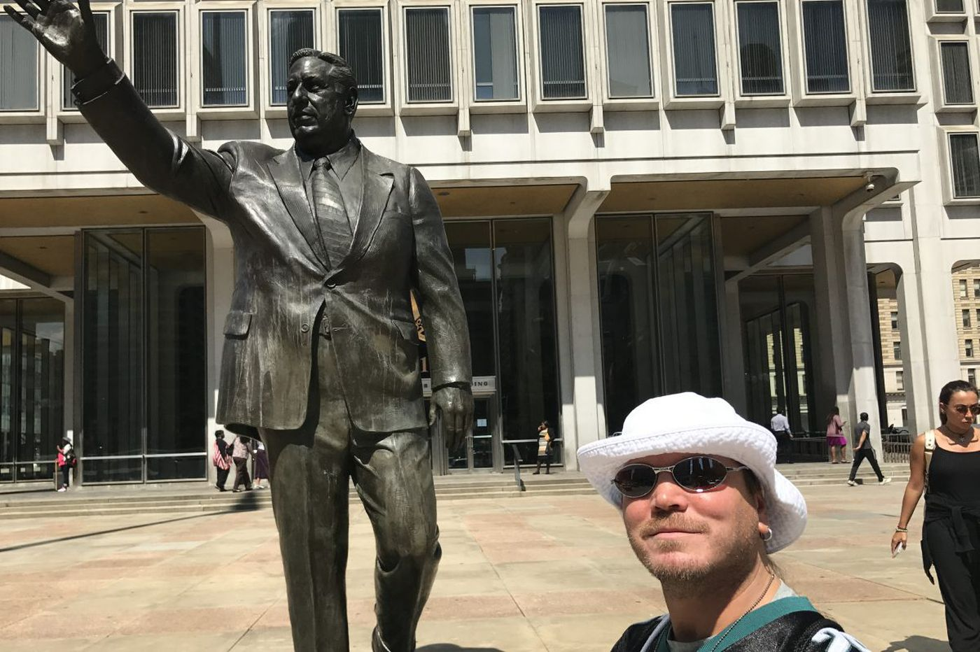 Why haven't you shared your thoughts about Rizzo statue with the city?