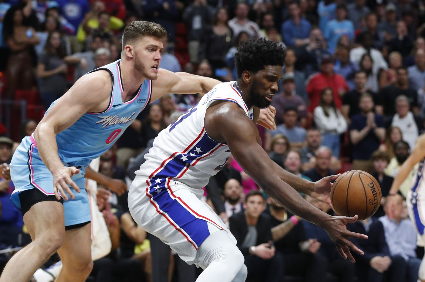 Sixers' road woes continue thanks to late miscues in loss to Heat