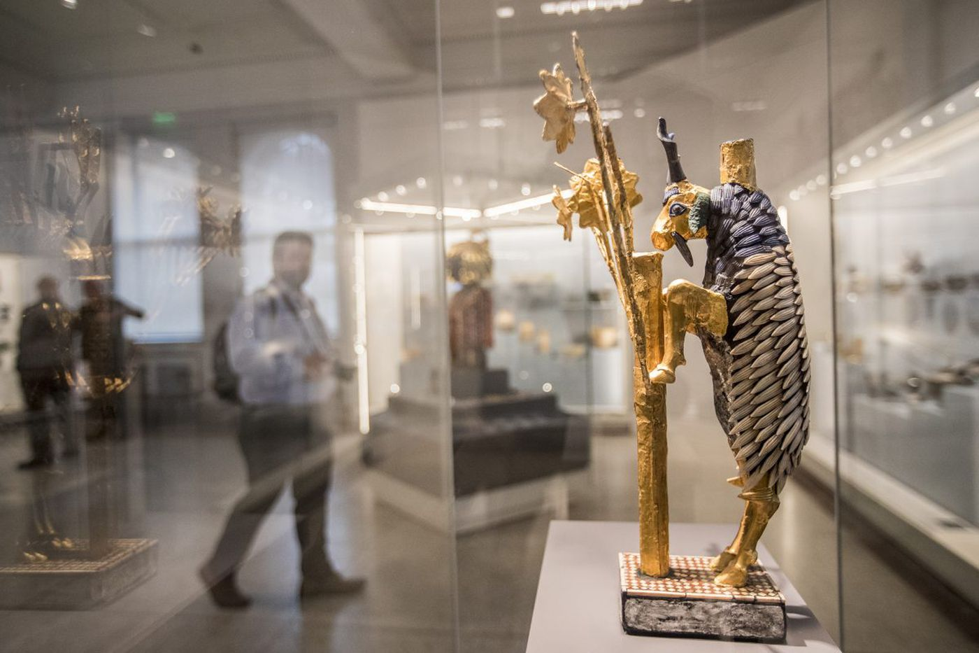 Penn Museum's Middle East Galleries reopen: Behold, the queen's beer straw