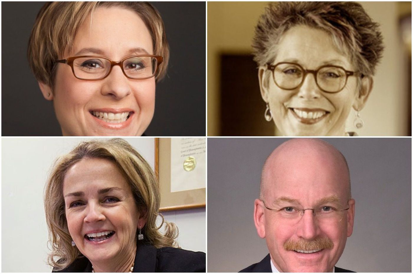In Pa.'s Fourth Congressional District, Madeleine Dean, Mary Jo Daley, Shira Goodman aim to overcome only male in primary, Joe Hoeffel | Maria Panaritis
