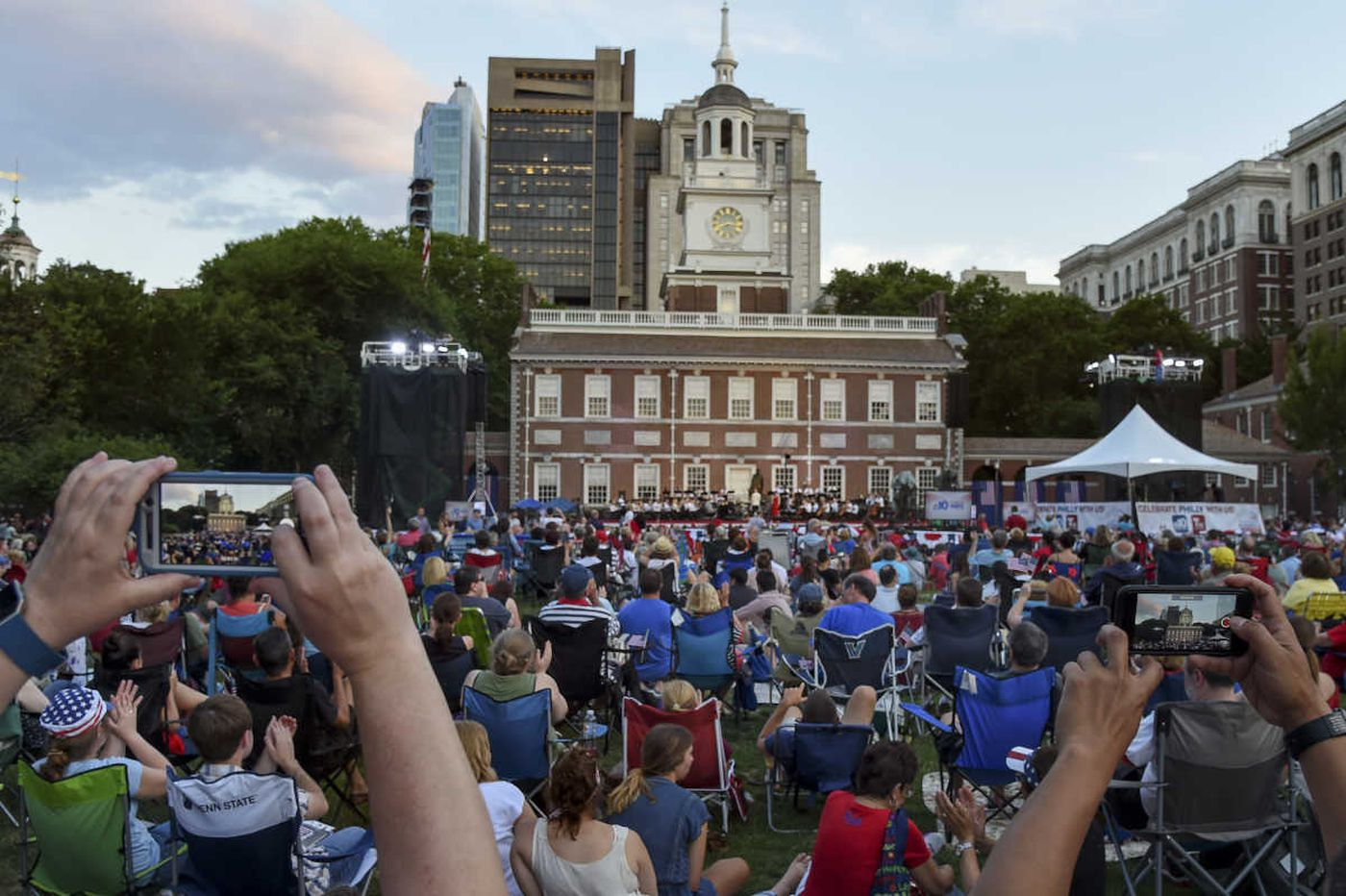 Independence Hall is not falling down, but it needs our support