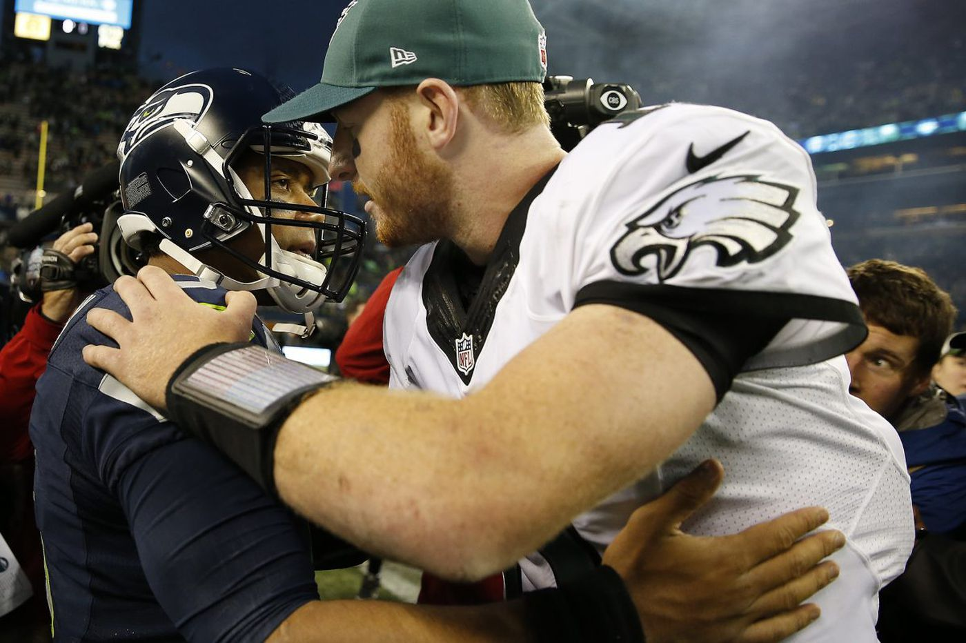 Carson Wentz says Eagles are ready for Seattle noise