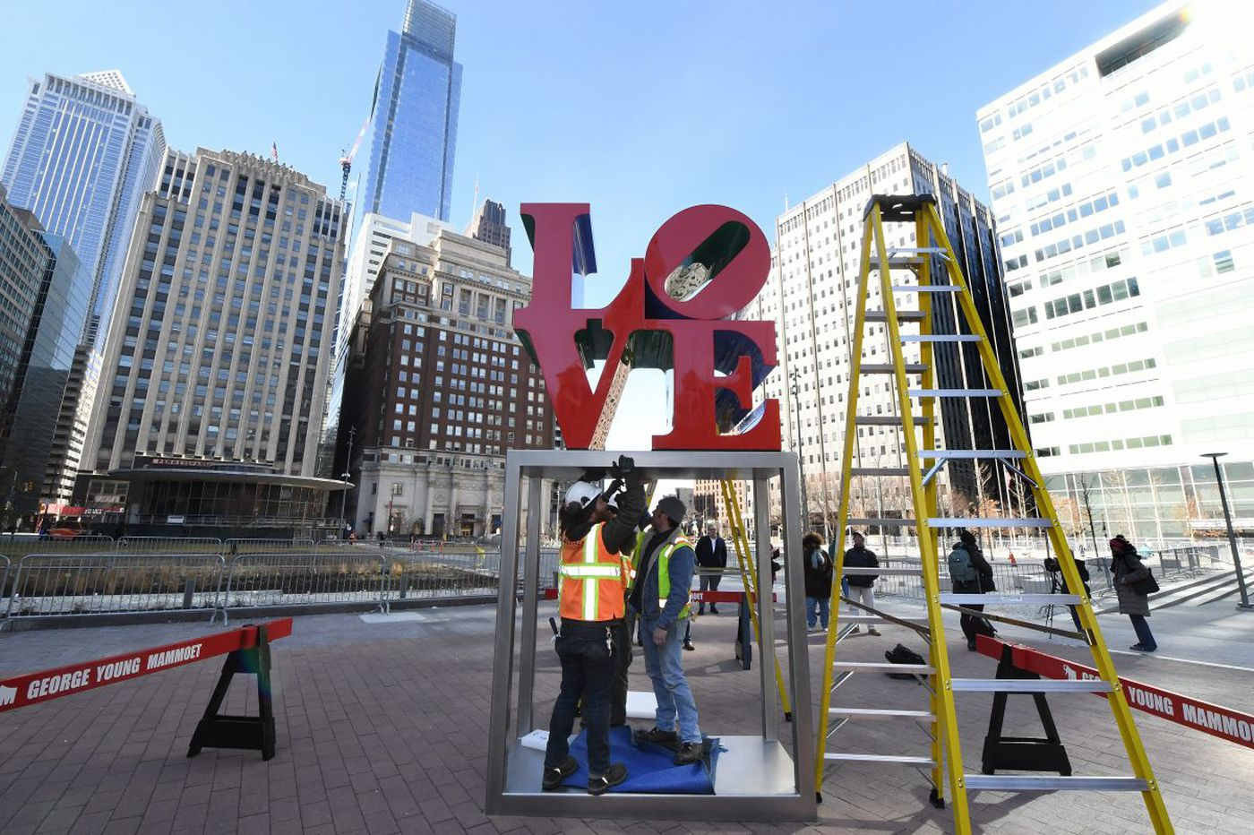 New LOVE Park is graceless instead of gritty; is that the kind of Philly we want to live in? | Opinion