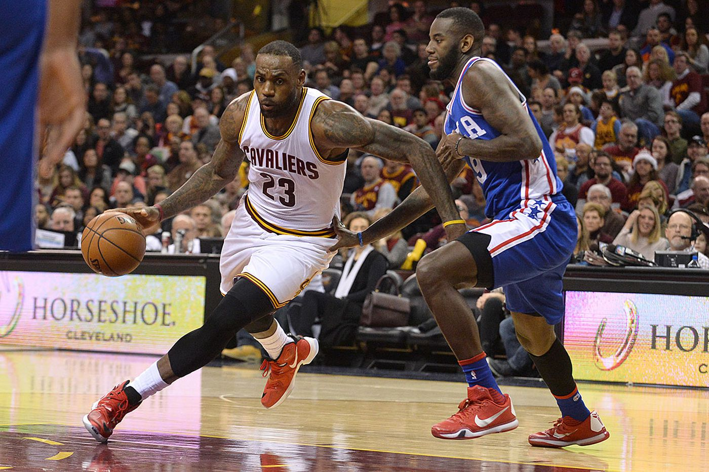 Cavs hand Sixers latest blowout loss