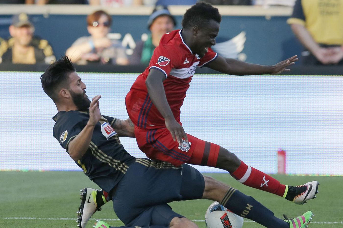 Union trade for David Accam, Chicago Fire and Ghana national team winger