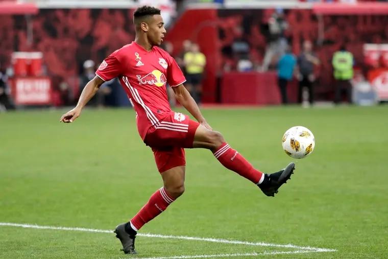 19-year-old New York Red Bulls midfielder Tyler Adams is one of the U.S. men's team's top prospects.