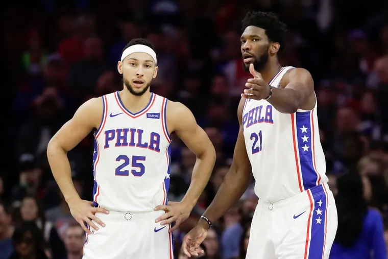 Is this the year that Joel Embiid (right) and Ben Simmons push the Sixers over the hump? The All-Stars are running out of time and excuses.