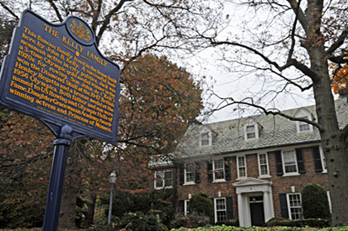 Grace Kelly's home gets historical marker
