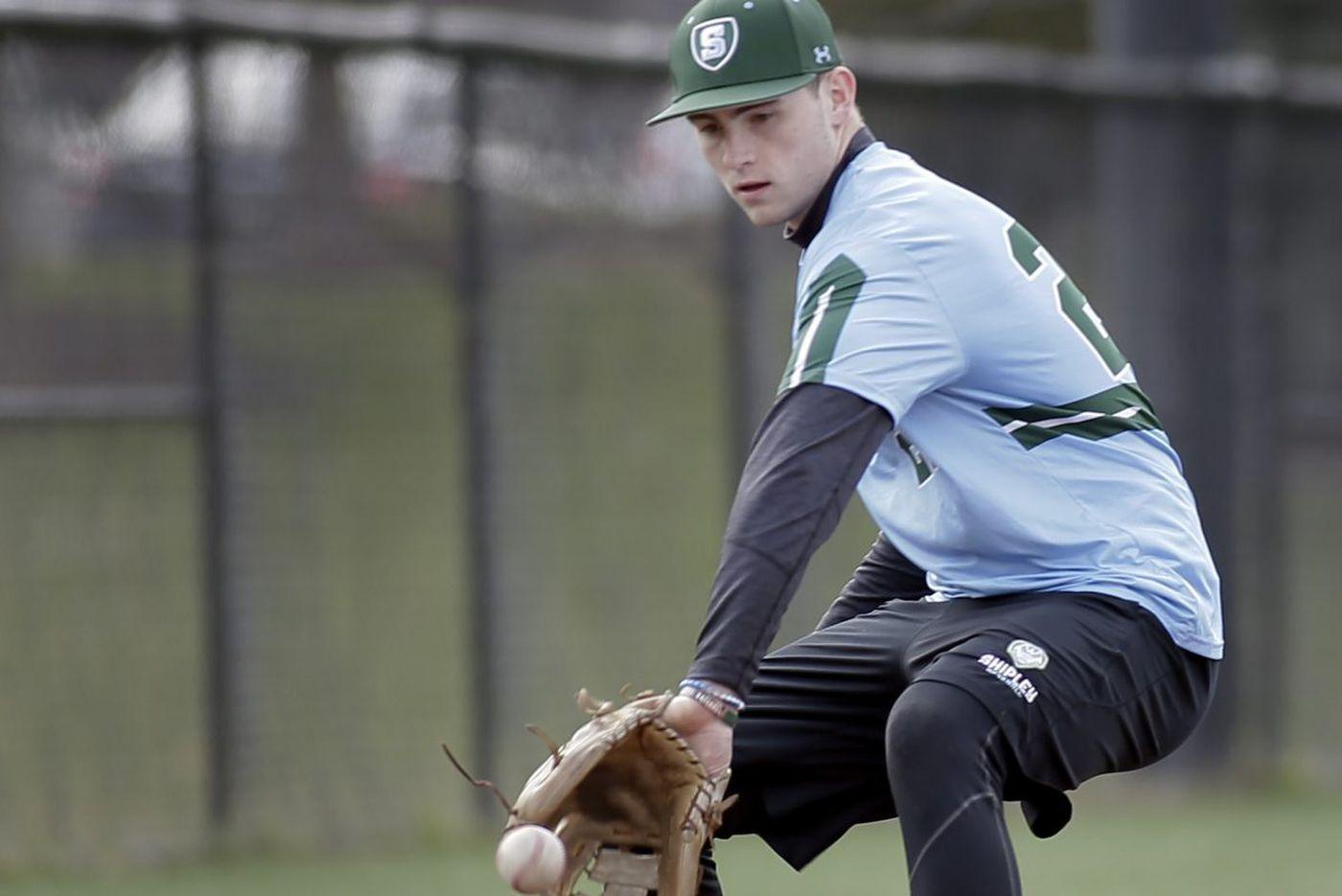 Tuesday's Pa. roundup: Shipley baseball blanks Abington Friends
