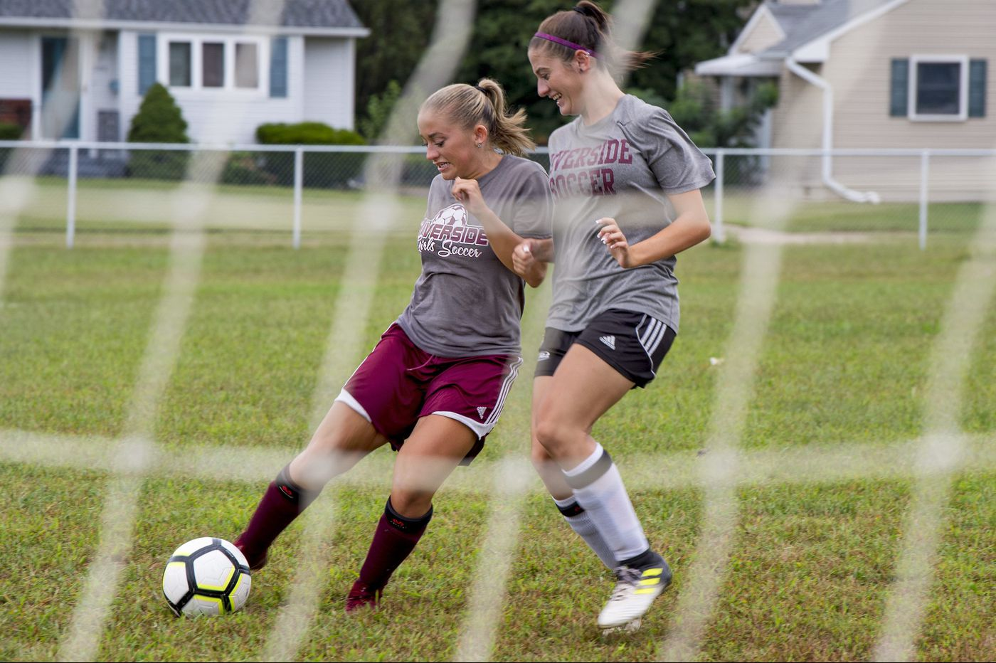 Riverside's Hailey Russell is a soccer scoring machine, thanks to help from twin