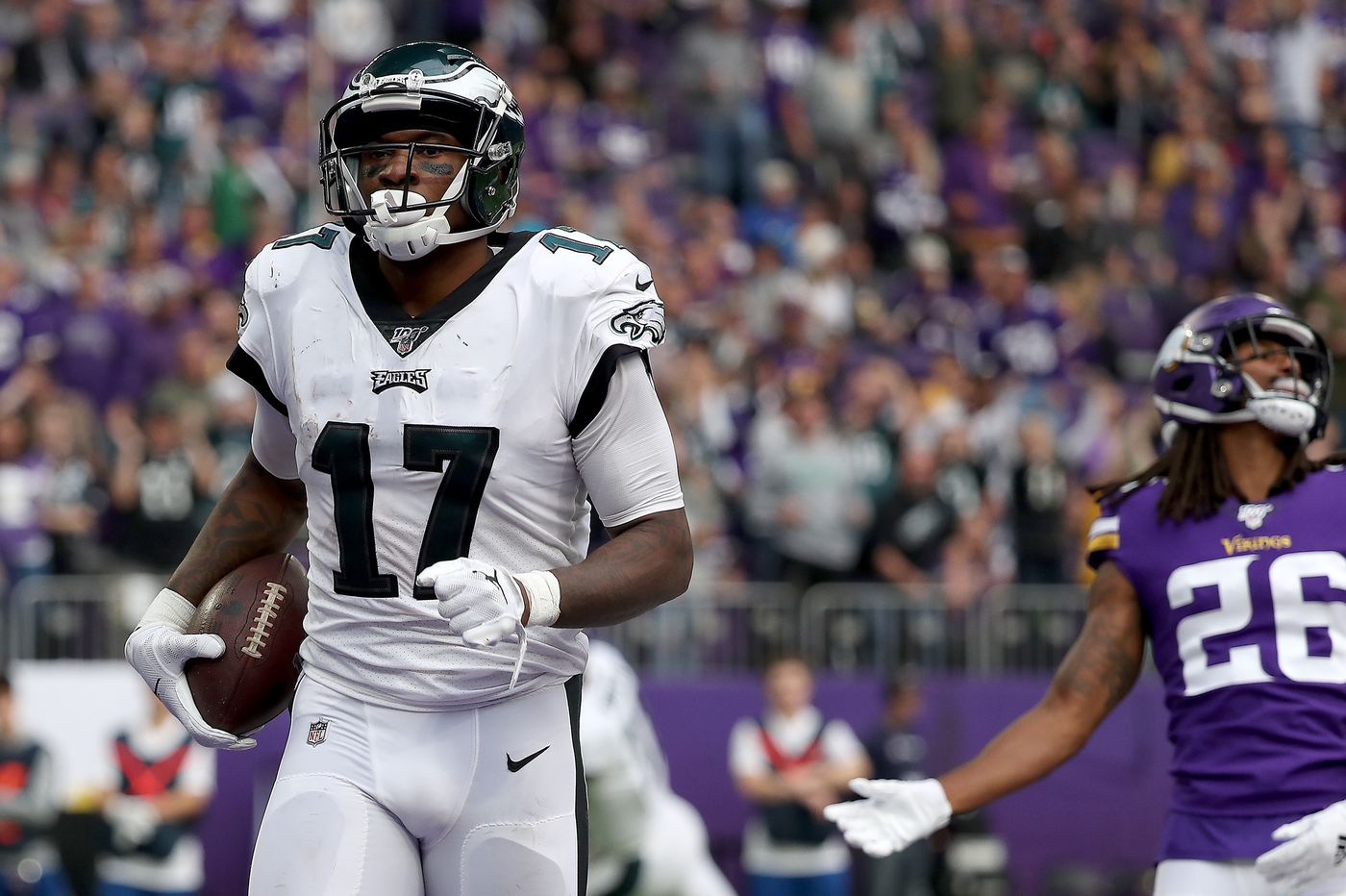 Minnesota Vikings 38 Philadelphia Eagles 20 As It Happened