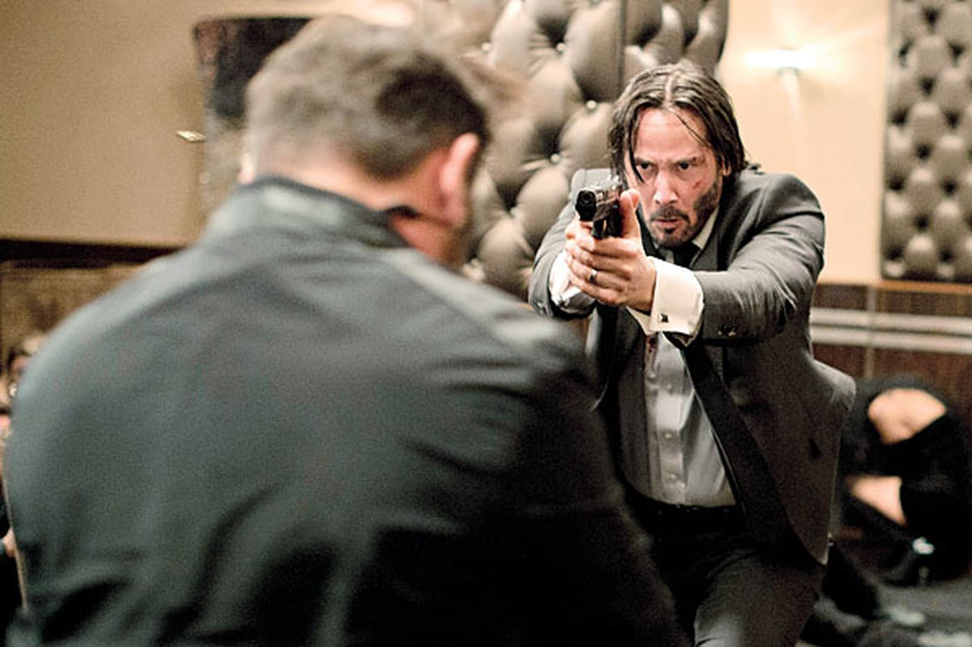 'John Wick': The big guns come out in breathtaking action