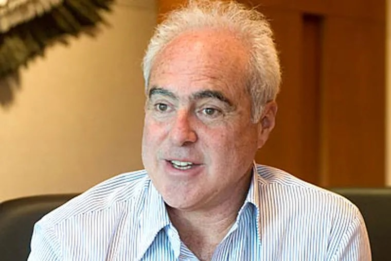 """""""We're ready to roll when there's a new league year,"""" Jeffrey Lurie said. (Clem Murray/Staff file photo)"""