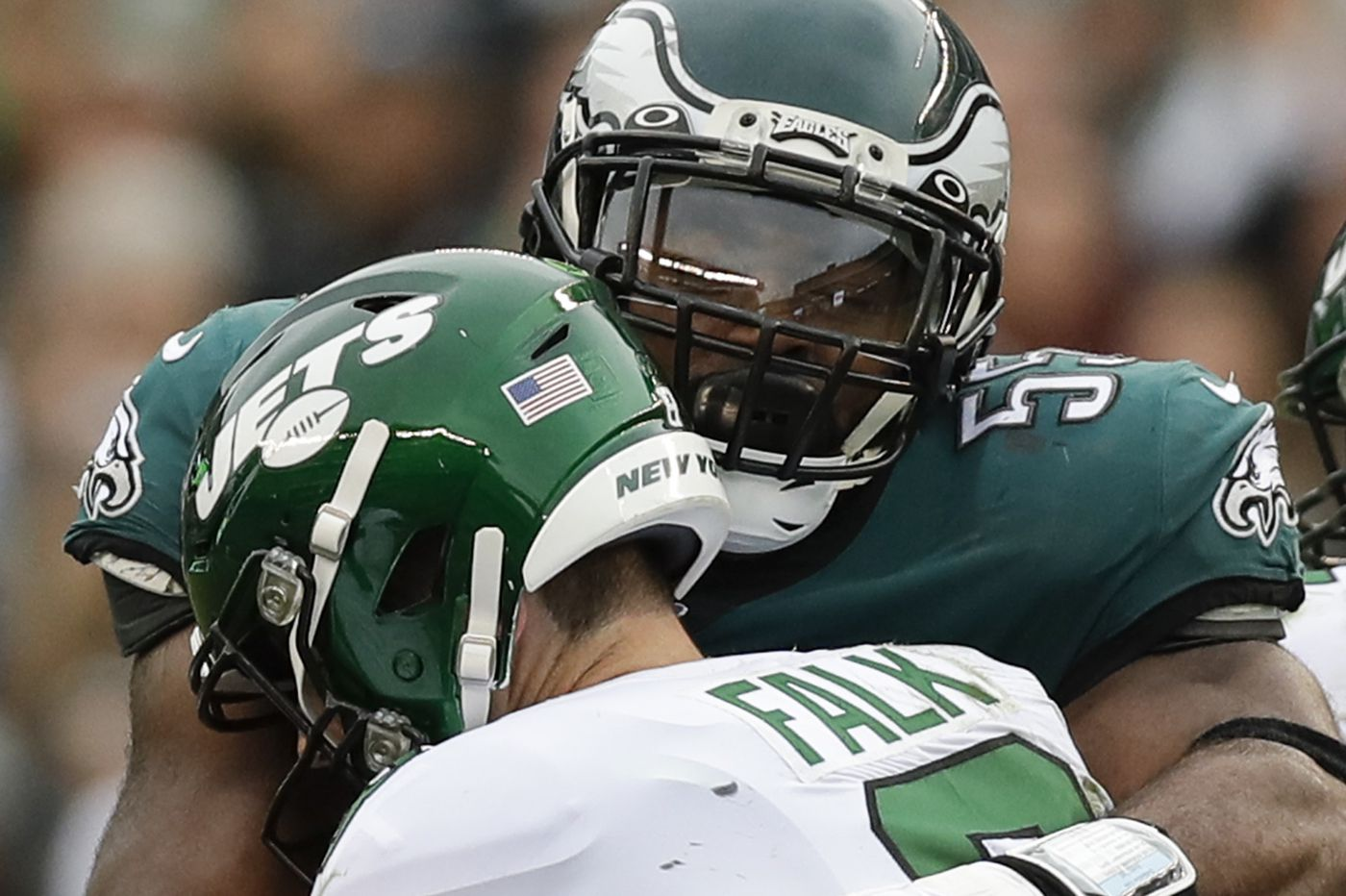 Eagles defense dominates Jets with 10 sacks and 2 touchdowns | Early Birds