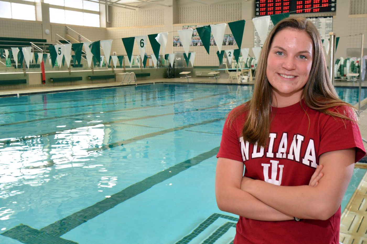 Pennridge swimmer Morgan Scott at her best in big meets
