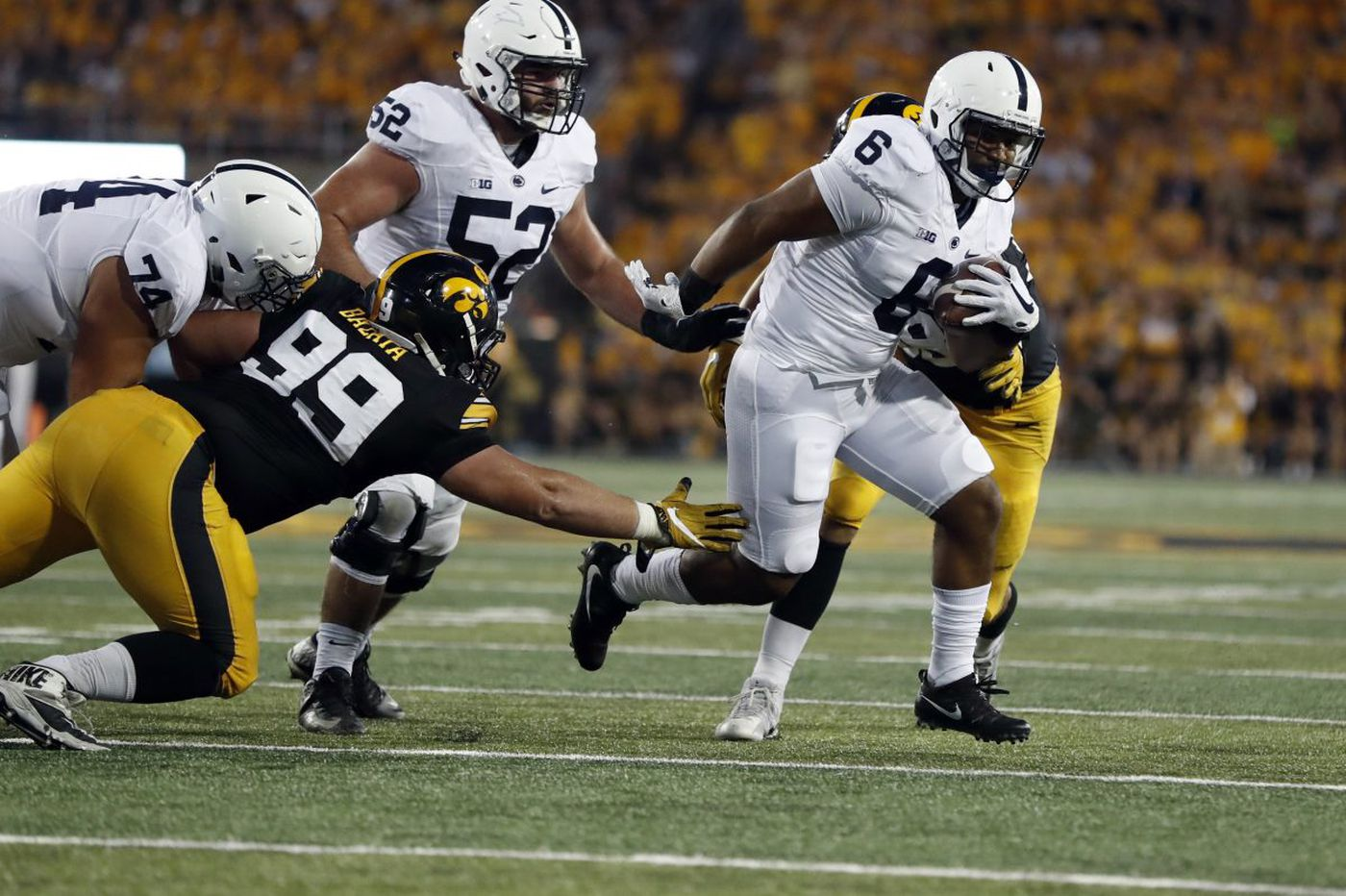 Penn State grants releases to two football players