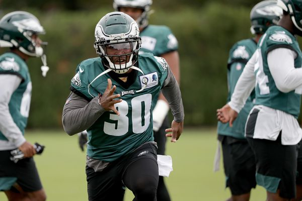 Where do the Eagles' running backs stand as cutdown day looms?