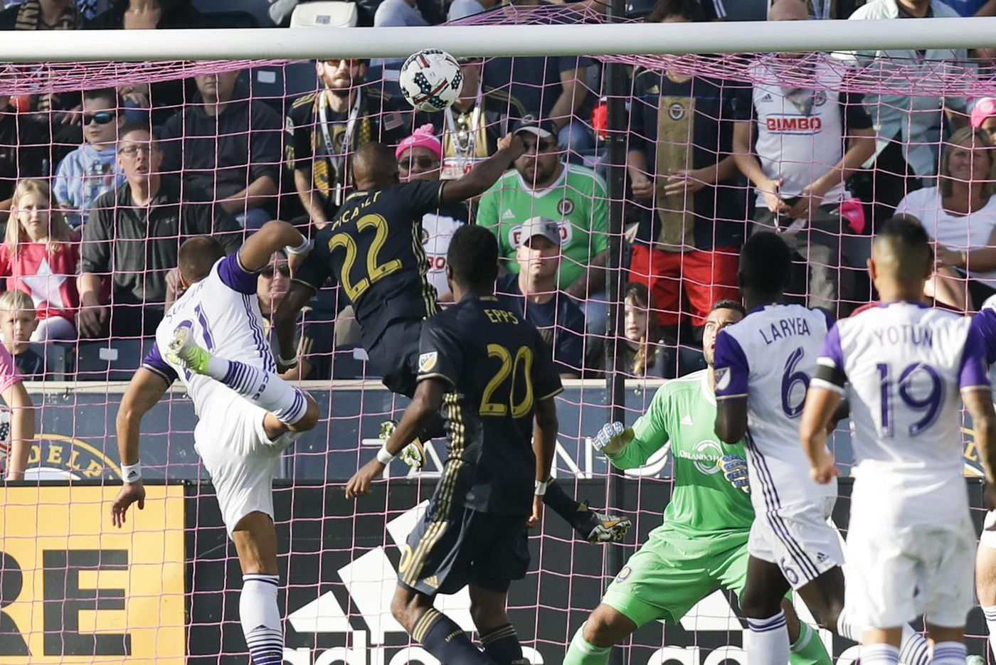 Union rout Orlando City 6-1 in season finale; Sapong sets goals record