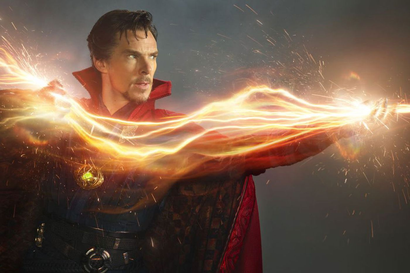 Benedict Cumberbatch as Doctor Strange.
