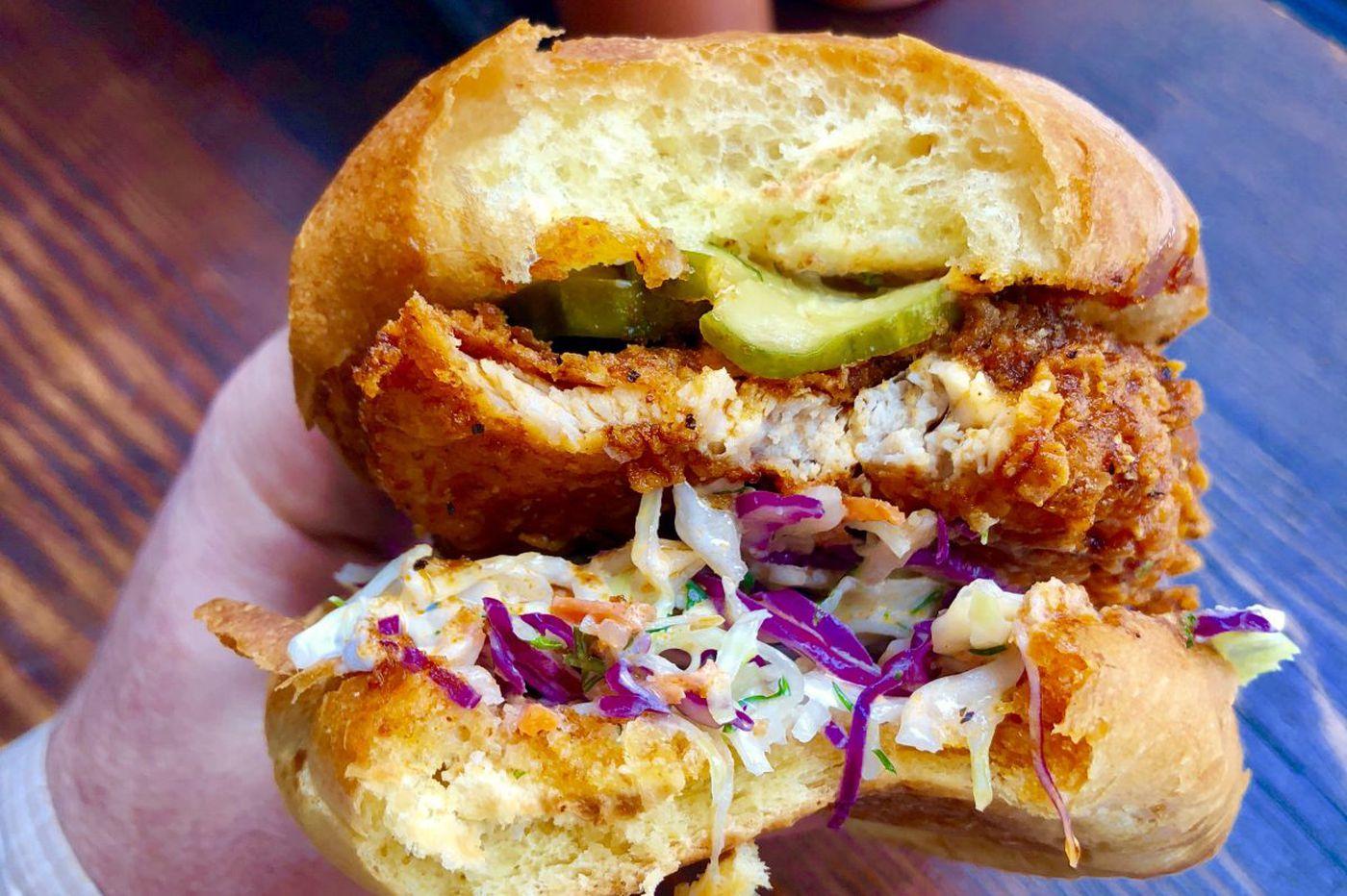 Good taste: Love and Honey's hot chicken sandwich