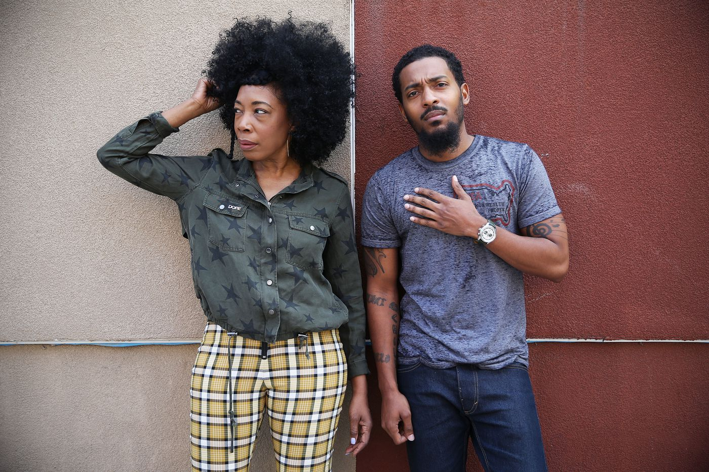Philly rapper Chill Moody and singer/Questlove's sister Donn T have combined forces as &More